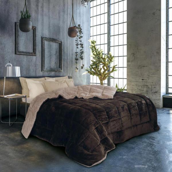 Κουβερτοπάπλωμα Υπέρδιπλο Das Home Blanket Line 1140