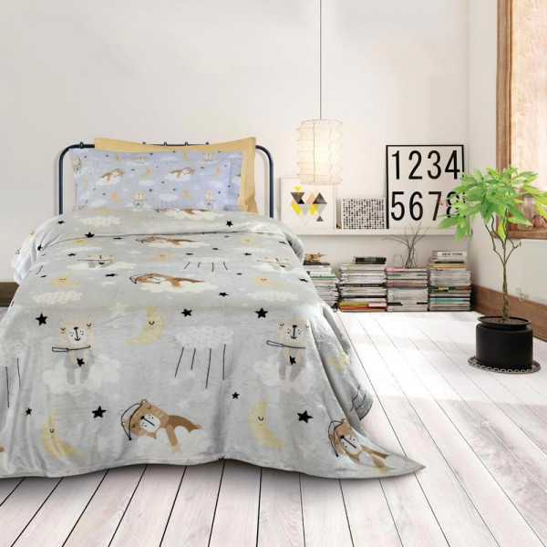 Κουβέρτα Fleece Μονή Das Home Kid Line 4703