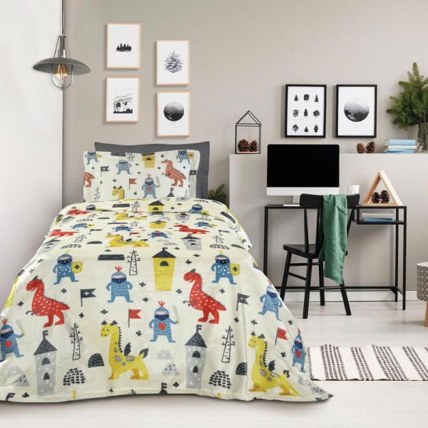 Κουβέρτα Fleece Μονή Das Home Kid Line 4707