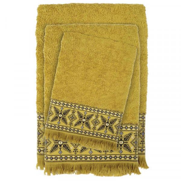 Πετσέτες Μπάνιου (Σετ 3τμχ) Das Home Happy 392