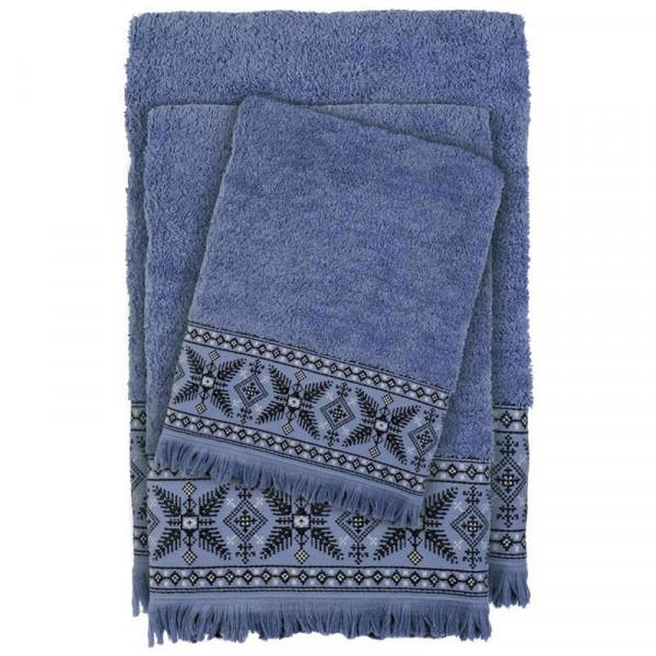 Πετσέτες Μπάνιου (Σετ 3τμχ) Das Home Happy 393