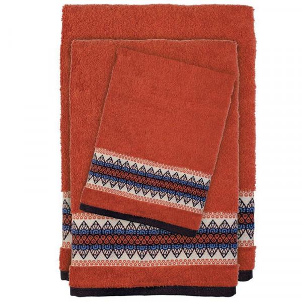 Πετσέτες Μπάνιου (Σετ 3τμχ) Das Home Happy 394