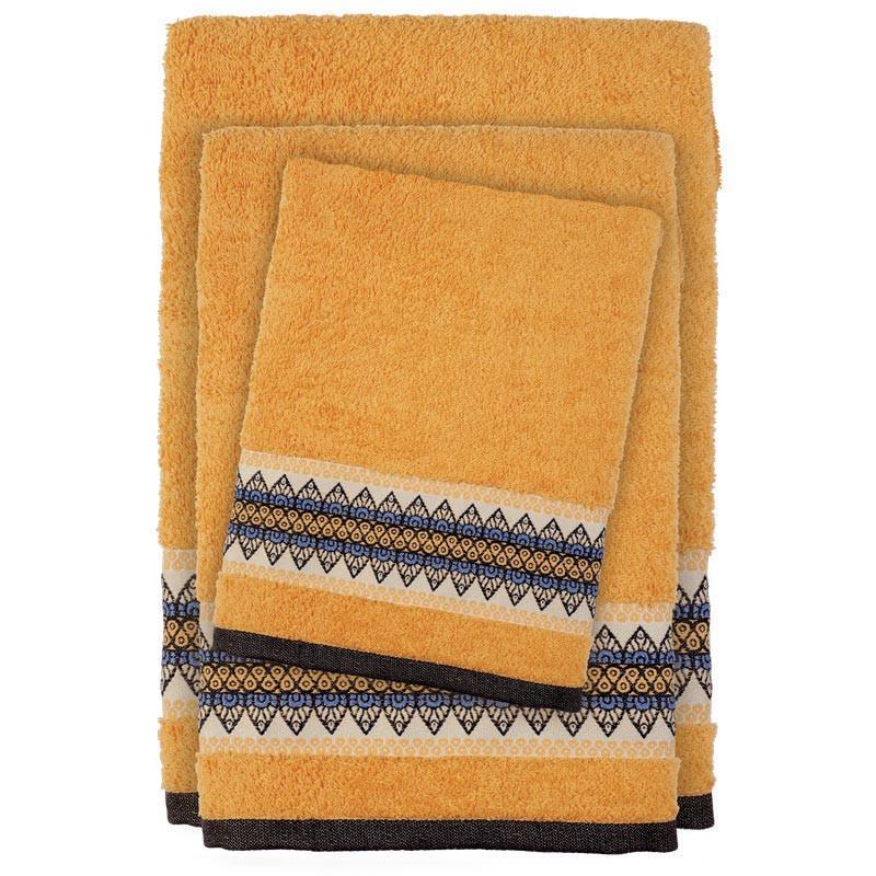 Πετσέτες Μπάνιου (Σετ 3τμχ) Das Home Happy 395