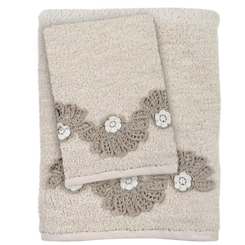 Πετσέτες Μπάνιου (Σετ 3τμχ) Das Home Daily 406