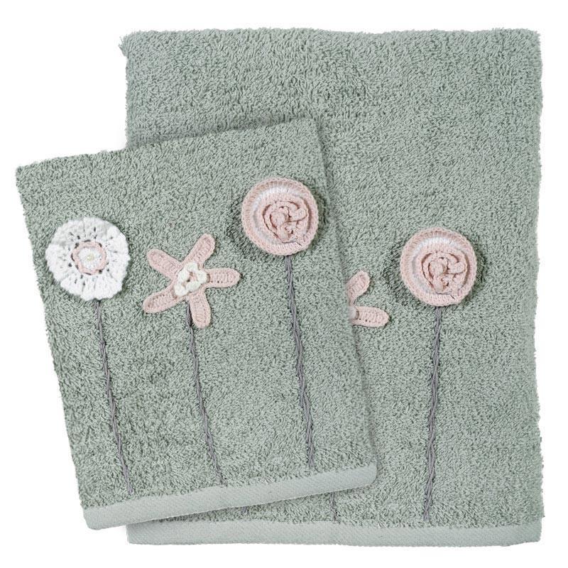 Πετσέτες Μπάνιου (Σετ 3τμχ) Das Home Daily 409