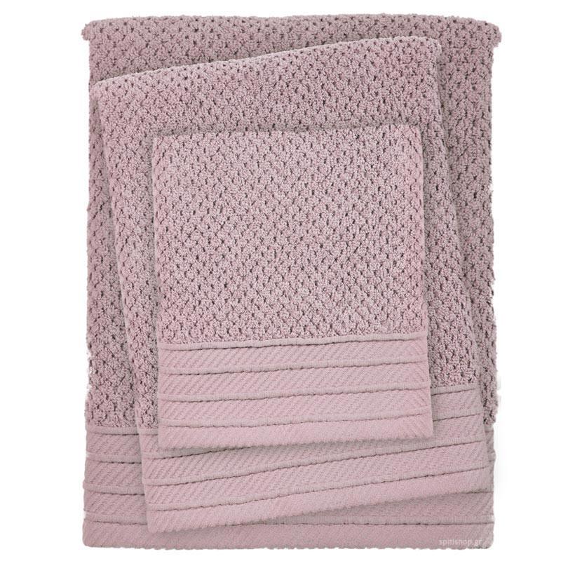 Πετσέτες Μπάνιου (Σετ 3τμχ) Das Home Simple 414
