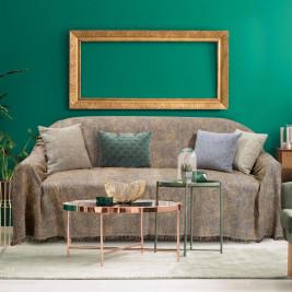 Ριχτάρι Τριθέσιου (180x300) Das Home Throws Line 176 Gold