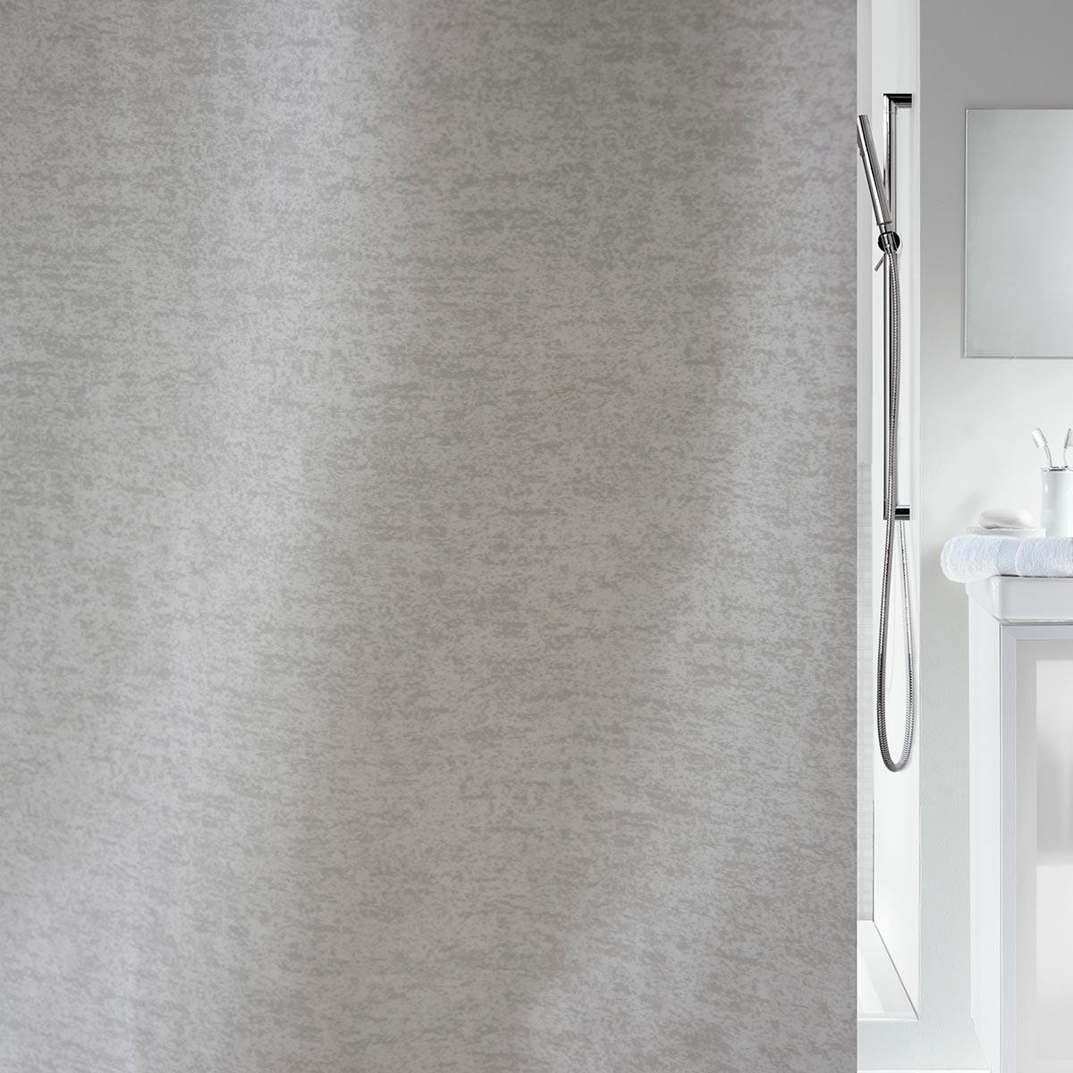 Κουρτίνα Μπάνιου (180×180) Spirella 02129.001 Aliza Grey