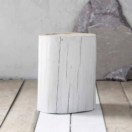 Βοηθητικό Τραπεζάκι - Κορμός Nima Wood White