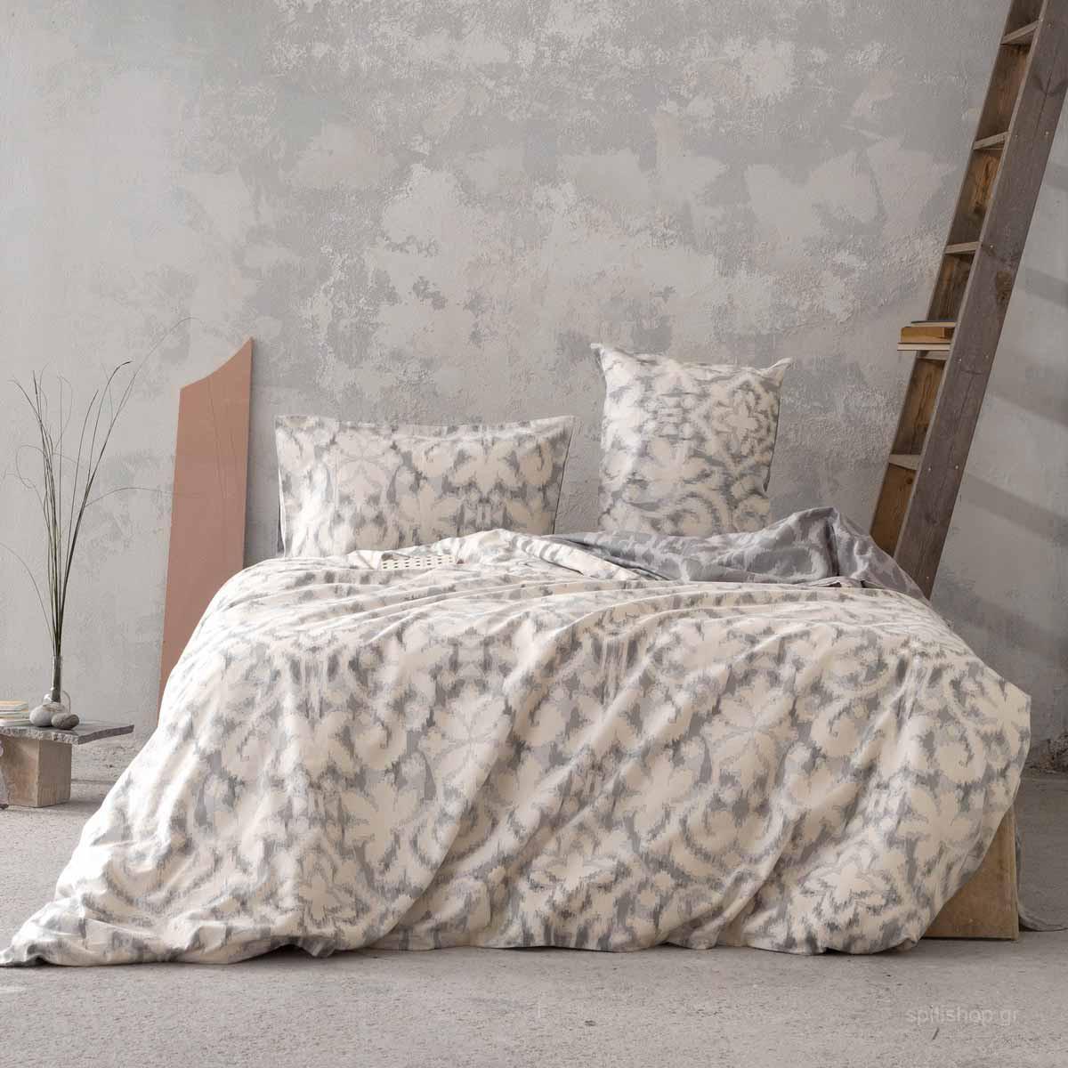 Φανελένια Σεντόνια Διπλά (Σετ) Nima Bed Linen Niya