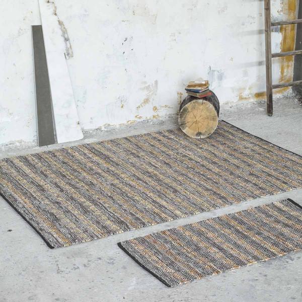 Δερμάτινο Χαλάκι (60x130) Nima Carpets Finley Tan