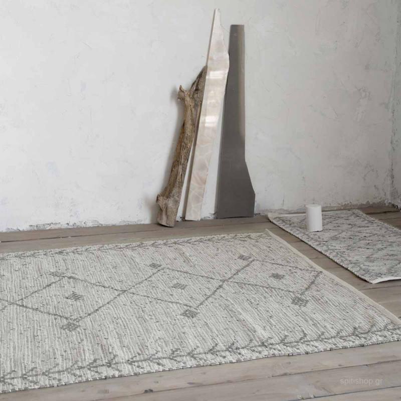 Δερμάτινο Χαλάκι (60x130) Nima Carpets Leone Taupe