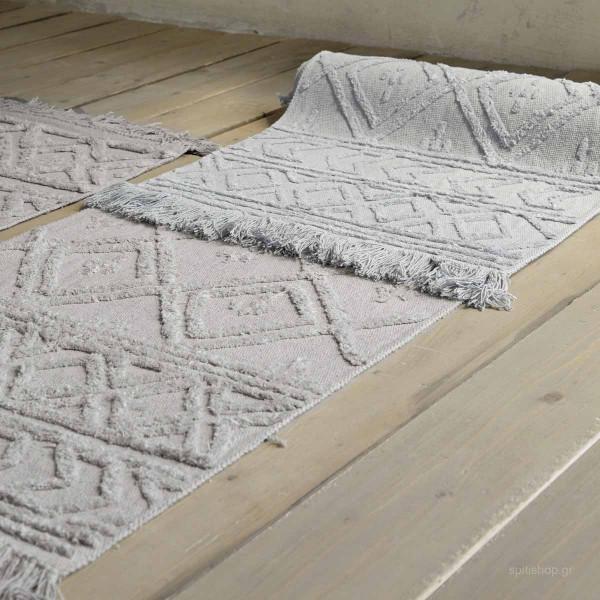 Χαλί Διαδρόμου (70x110) Nima Carpets Sharon Grey