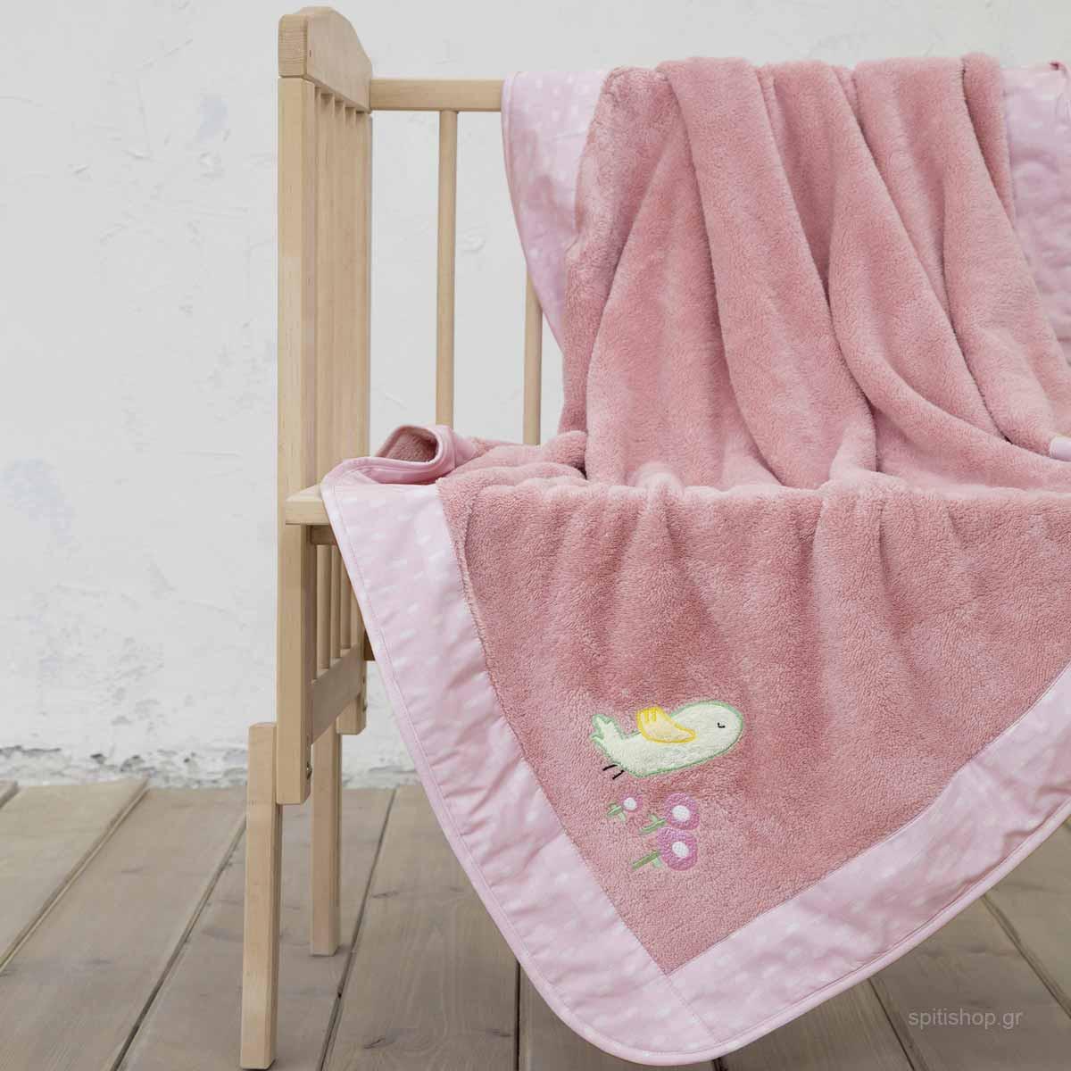 Κουβέρτα Fleece Αγκαλιάς Nima Baby Cuckoo