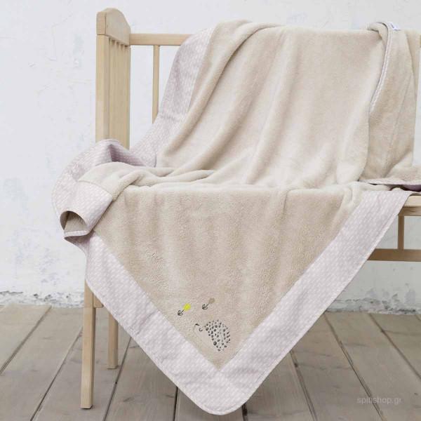 Κουβέρτα Fleece Κούνιας Nima Baby Riccio