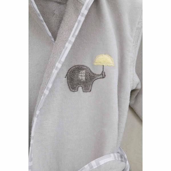 Βρεφικό Μπουρνούζι Nima Baby Elephantino