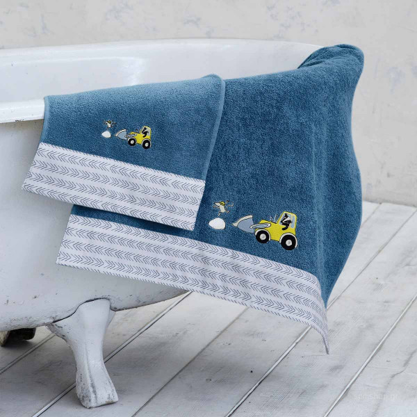 Παιδικές Πετσέτες (Σετ 2τμχ) Nima Kids Craftboy