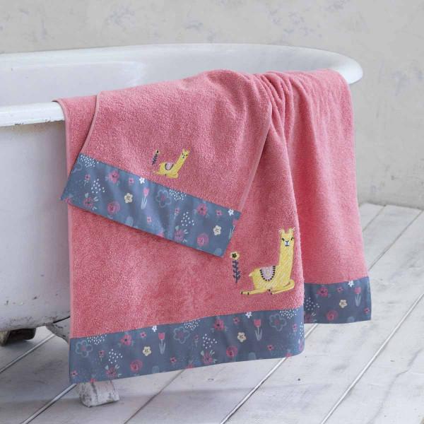 Παιδικές Πετσέτες (Σετ 2τμχ) Nima Kids Llama