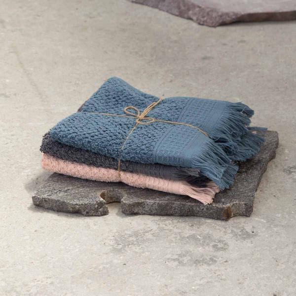Πετσέτες Χεριών (Σετ 3τμχ) Nima Bath Dorinda Α