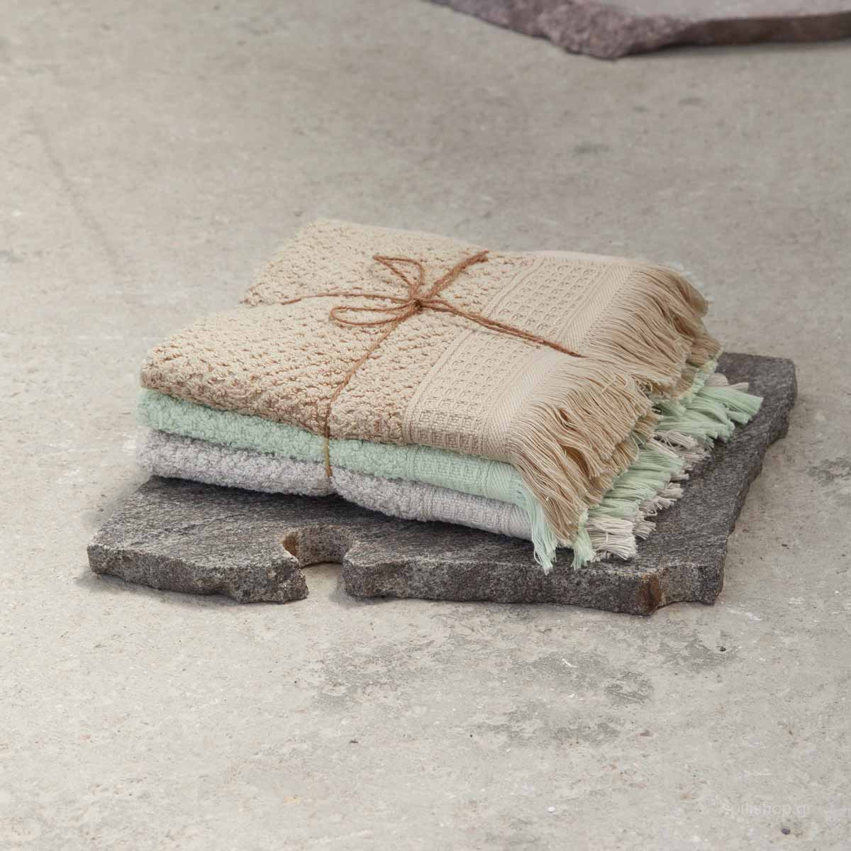 Πετσέτες Χεριών (Σετ 3τμχ) Nima Bath Dorinda B