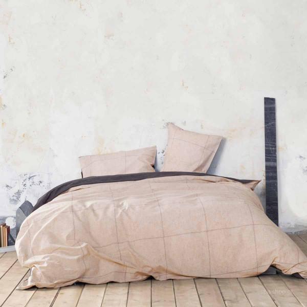 Σεντόνια Υπέρδιπλα (Σετ) Nima Bed Linen Tailor Beige