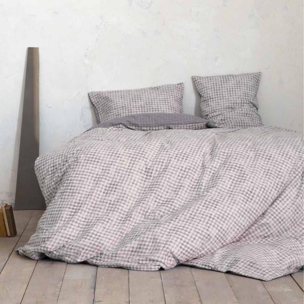 Σεντόνια Υπέρδιπλα (Σετ) Nima Bed Linen Dash Beige