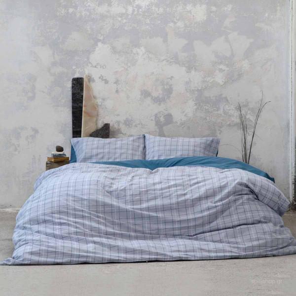 Παπλωματοθήκη Υπέρδιπλη (Σετ) Nima Bed Linen Gesso