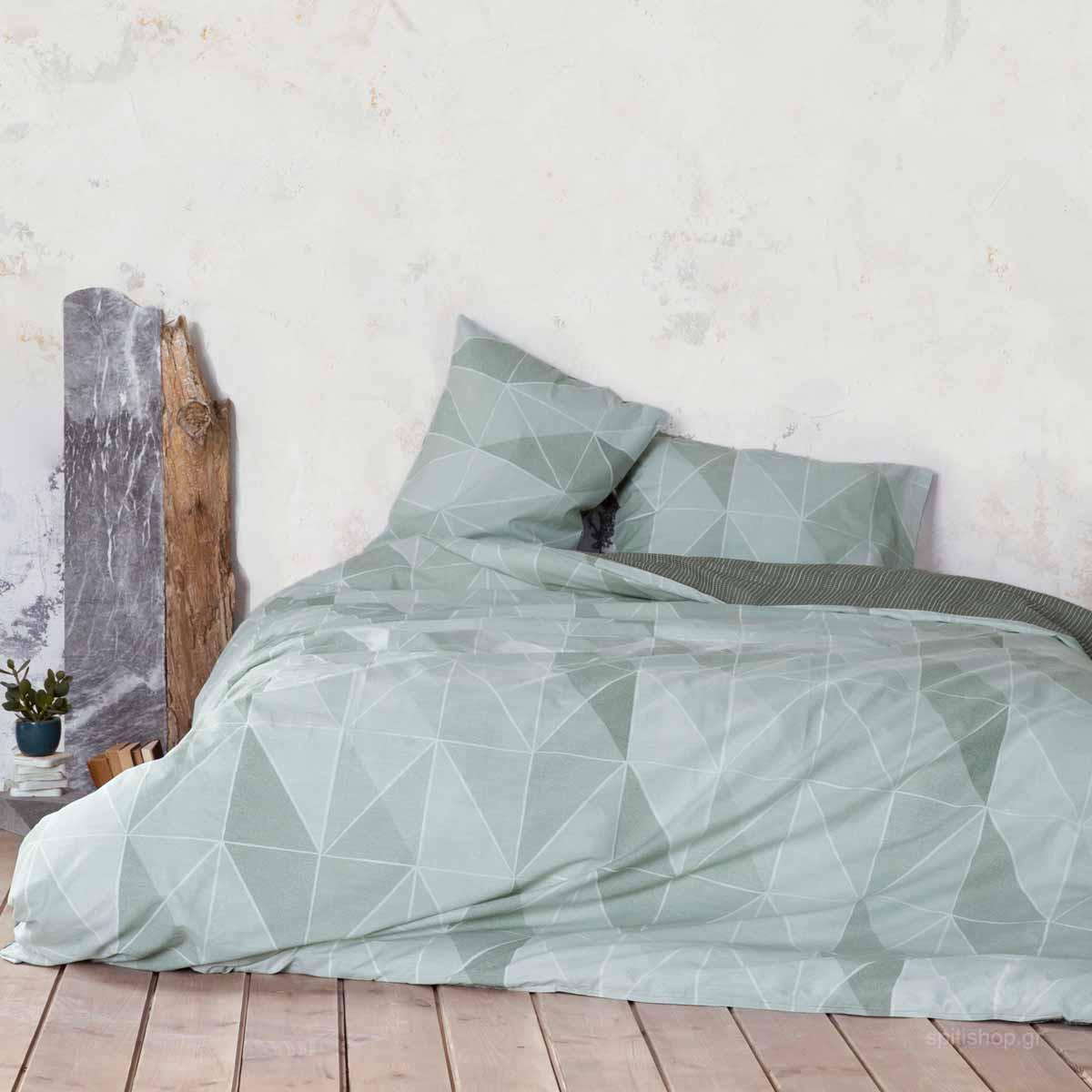 Πάπλωμα Υπέρδιπλο Nima Bed Linen Couette Mint