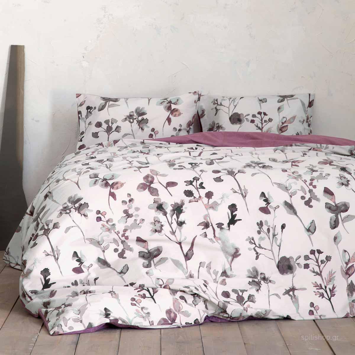Παπλωματοθήκη King Size (Σετ) Nima Bed Linen Claricia
