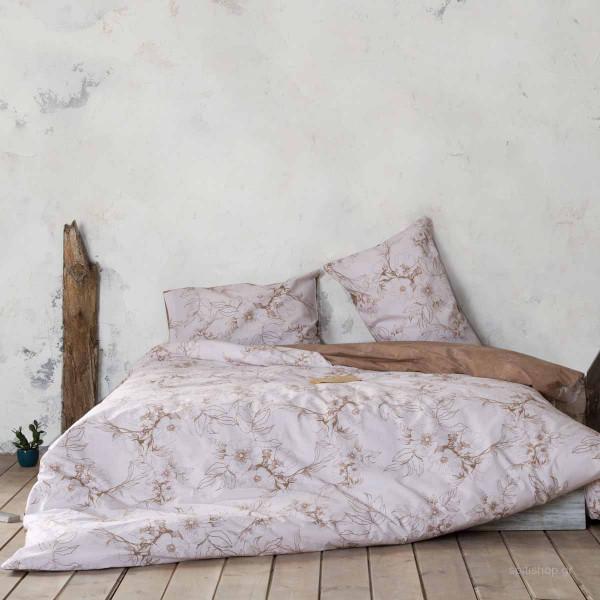 Σεντόνια King Size (Σετ) Nima Bed Linen Tabitha Beige