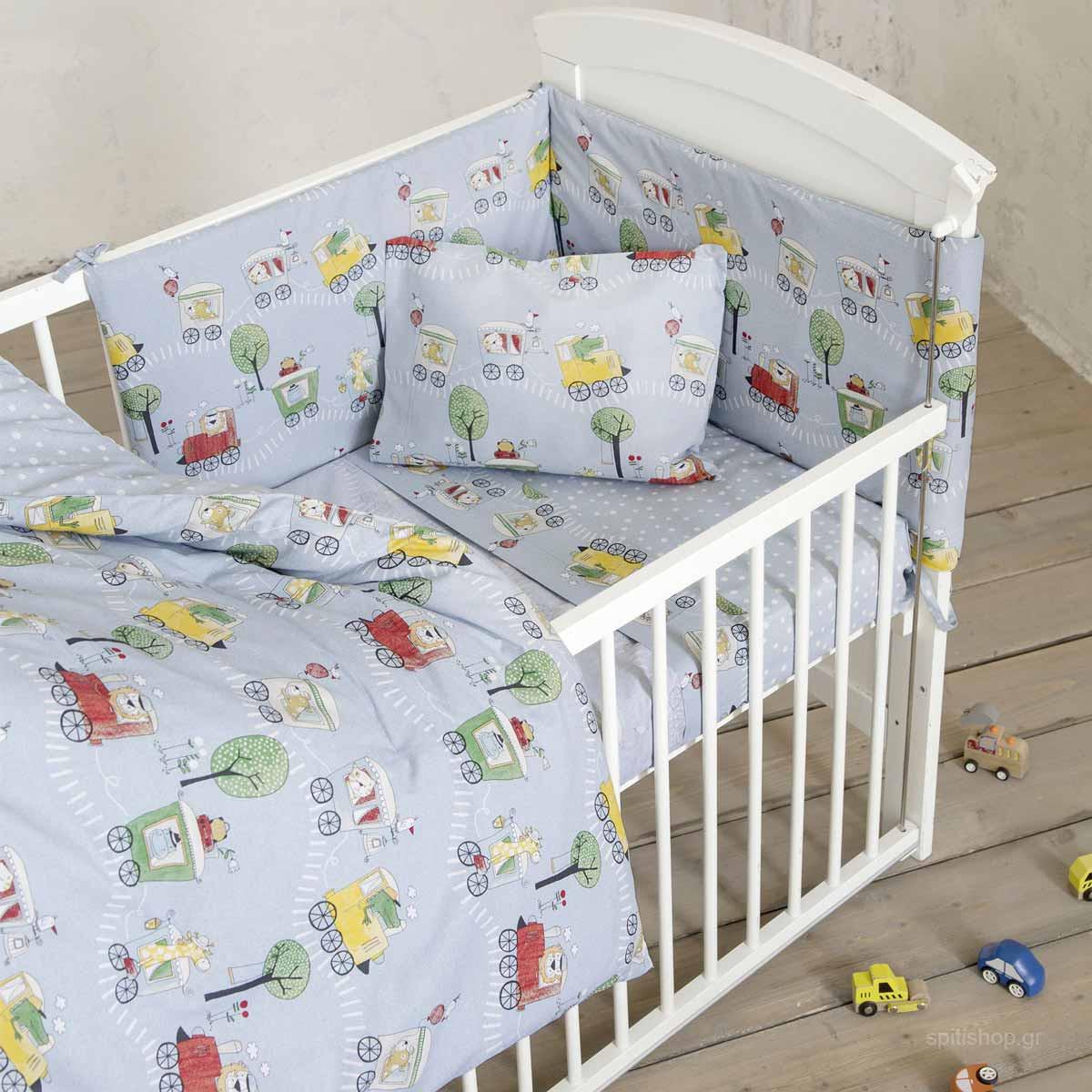 Σεντόνια Κούνιας (Σετ) Nima Baby Baby Express