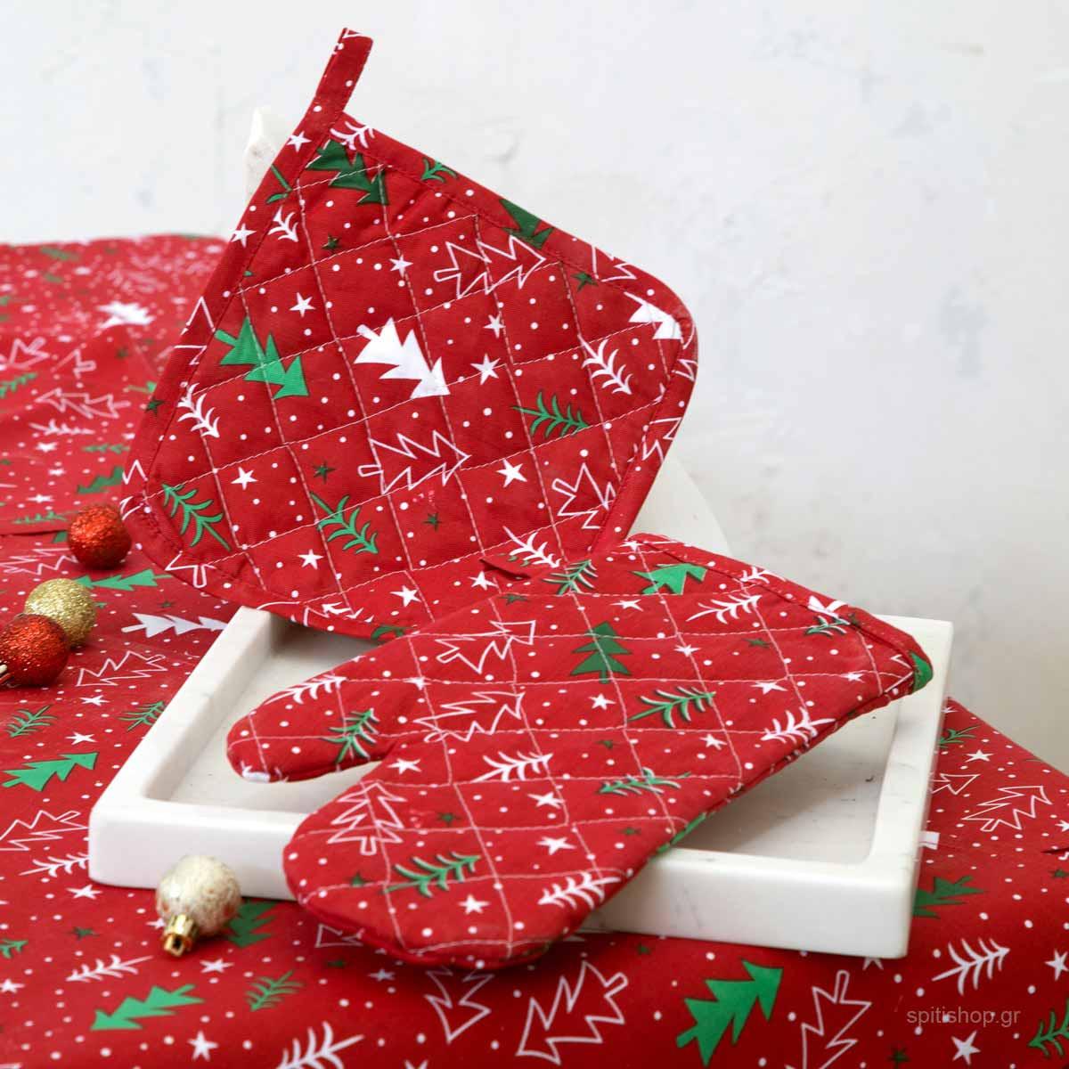 Χριστουγεννιάτικο Γάντι Κουζίνας Nima Be Merry