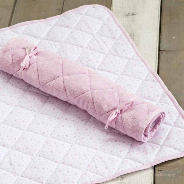 Στρωματάκι Αλλαξιέρας Nima Baby Snuggle Pink