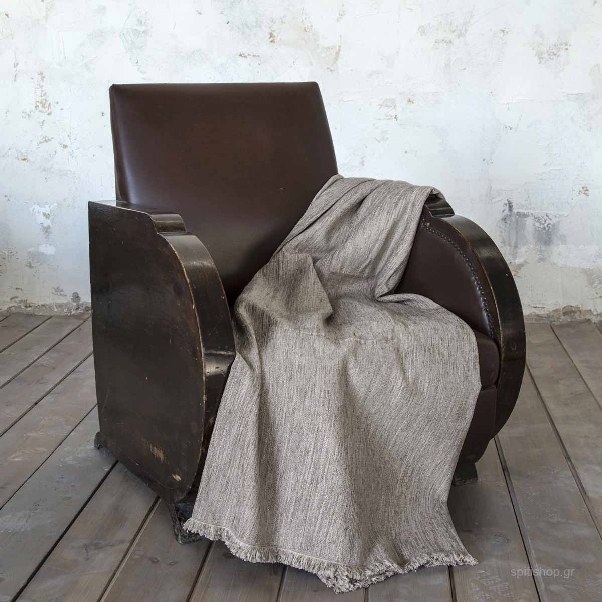 Ριχτάρι Τριθέσιου (180×300) Nima Living Blade Grey