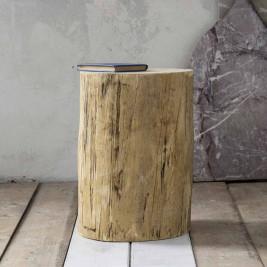 Βοηθητικό Τραπεζάκι - Κορμός Nima Wood Natural