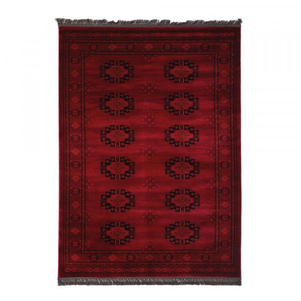 Χαλιά Κρεβατοκάμαρας (Σετ 3τμχ) Royal Carpets Afgan 6871H D.Red