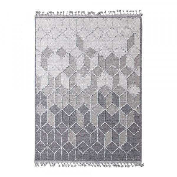 Χαλί Διαδρόμου (67x140) Royal Carpets Linq 7443A Ivory/D.Grey