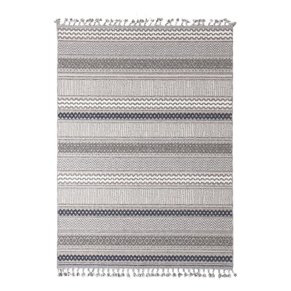 Χαλί Διαδρόμου (67×140) Royal Carpets Linq 7438A Ivory/D.Grey