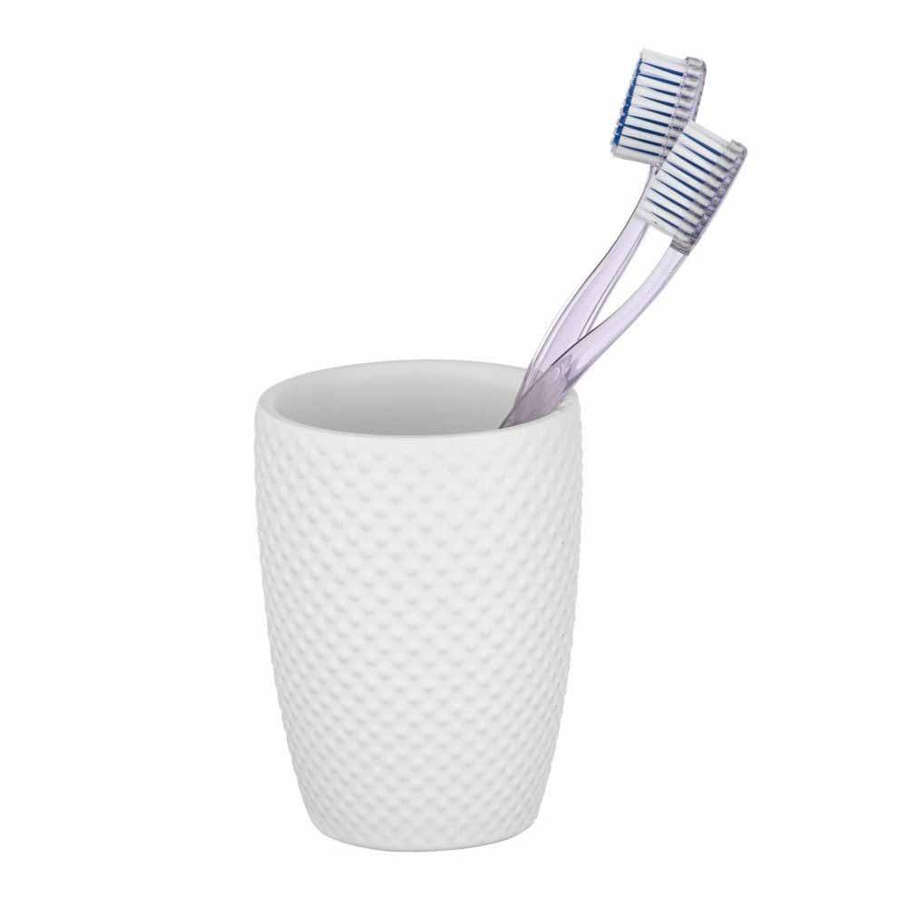 Ποτήρι Οδοντόβουρτσας Wenko Punto White 22951100
