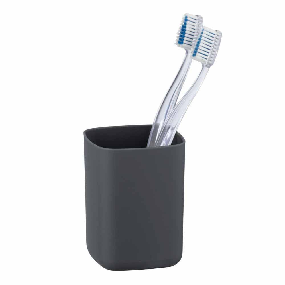 Ποτήρι Οδοντόβουρτσας Wenko Barcelona Anthracite 23976100