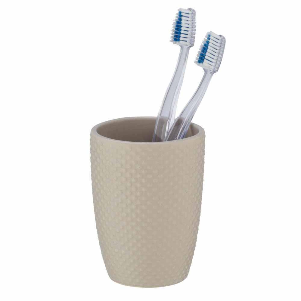 Ποτήρι Οδοντόβουρτσας Wenko Punto Sand 23634100