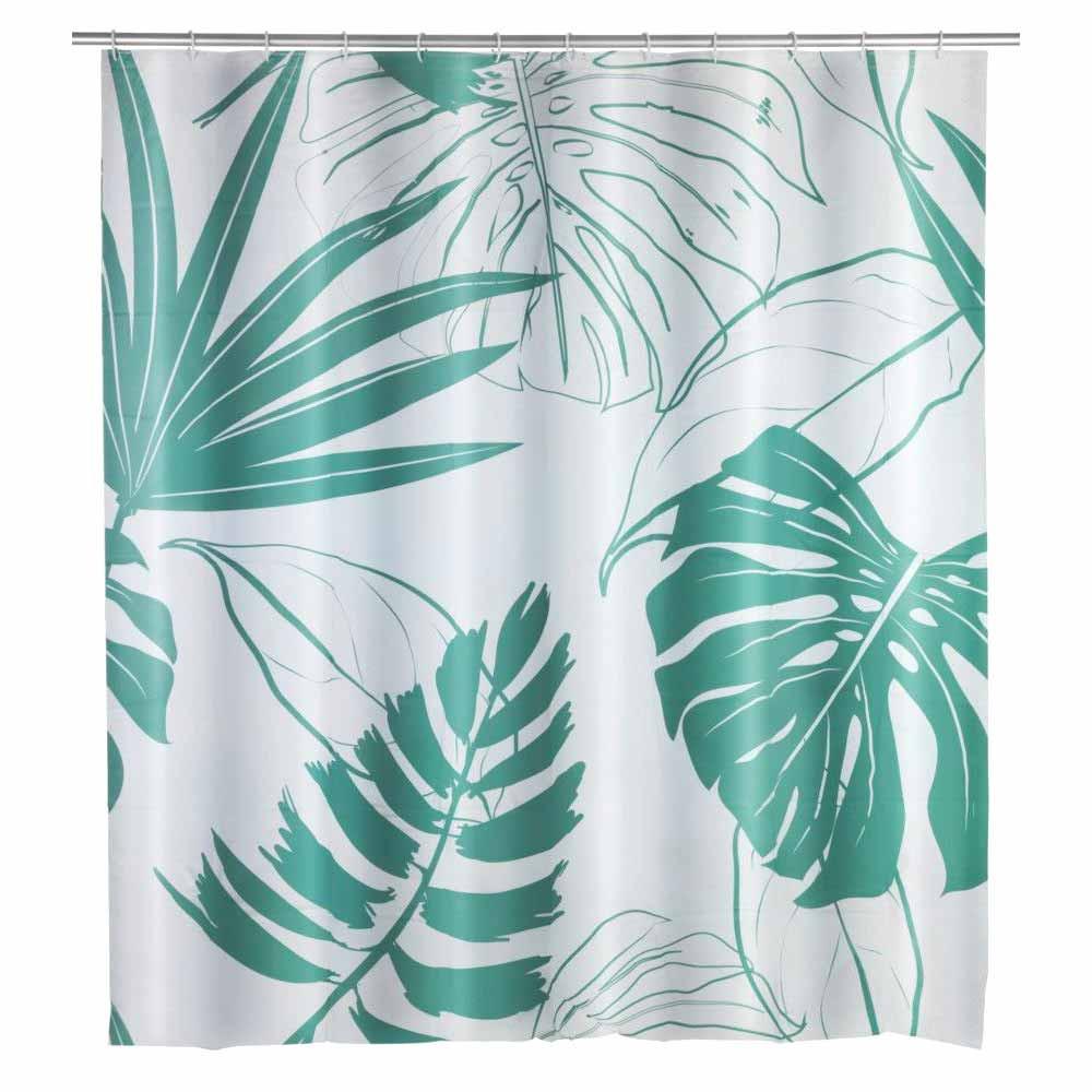 Κουρτίνα Μπάνιου Πλαστική (180×200) Wenko Brasil Green 23820100