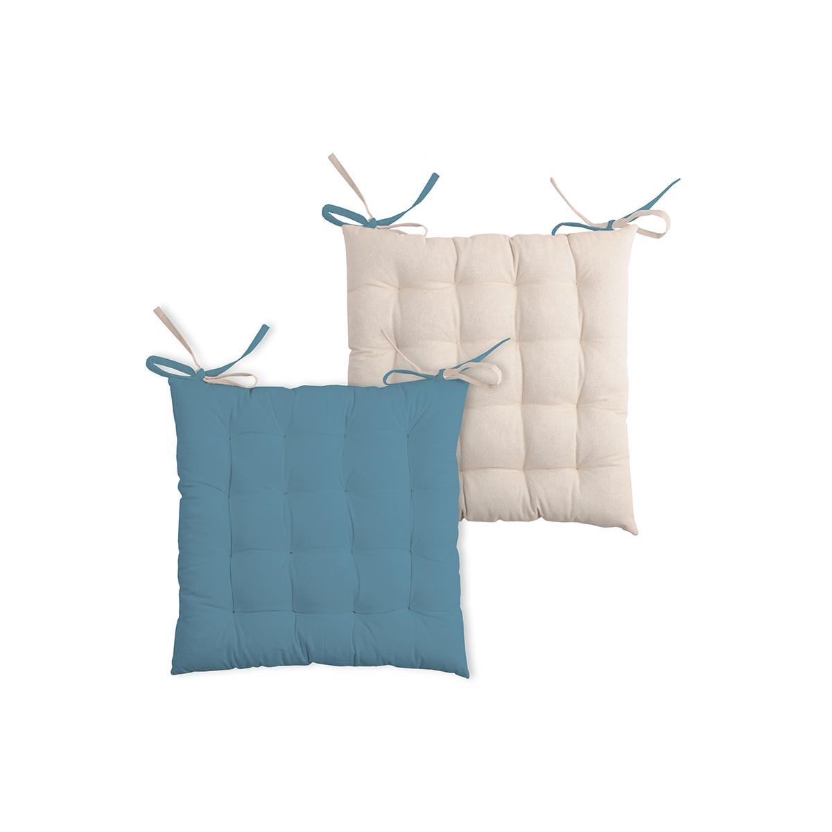 Μαξιλάρι Καρέκλας 2 Όψεων Duo Azur/Lin CU1490161GAL