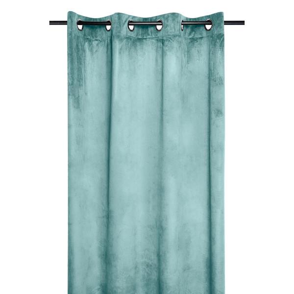 Κουρτίνα Βελουτέ (140x260) Με Τρουκς S-F Danae Jade R68630008