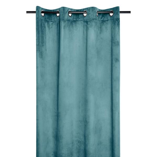 Κουρτίνα Βελουτέ (140x260) Με Τρουκς S-F Danae Celadon R68630009