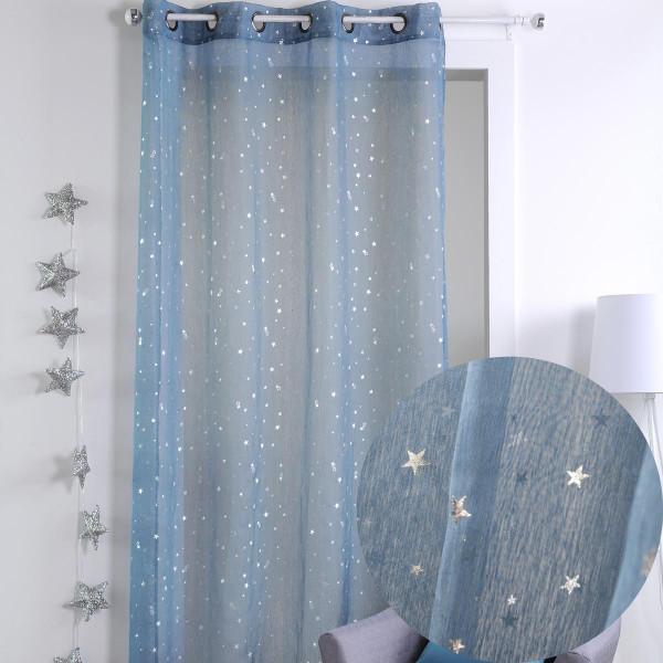 Παιδική Κουρτίνα (140x260) Με Τρουκς S-F Sterne Bleu R61736003VL