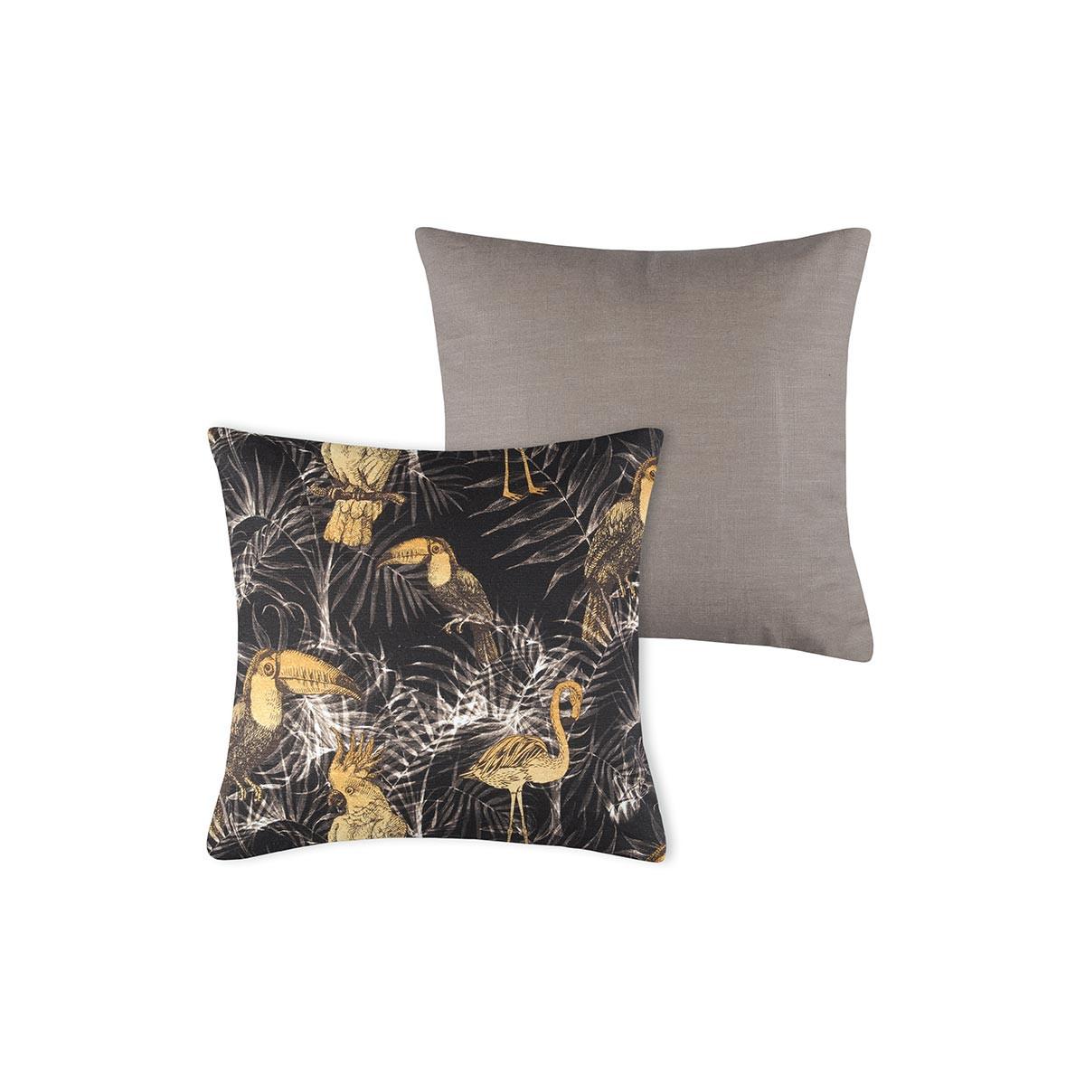 Διακοσμητικό Μαξιλάρι (40×40) Exoiseau Brun C03476001