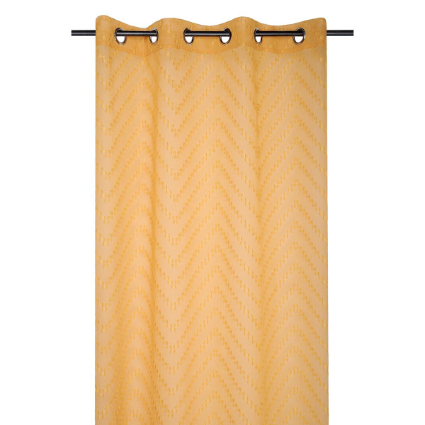 Κουρτίνα (140x260) Με Τρουκς S-F Design Moutarde R6A193003VL