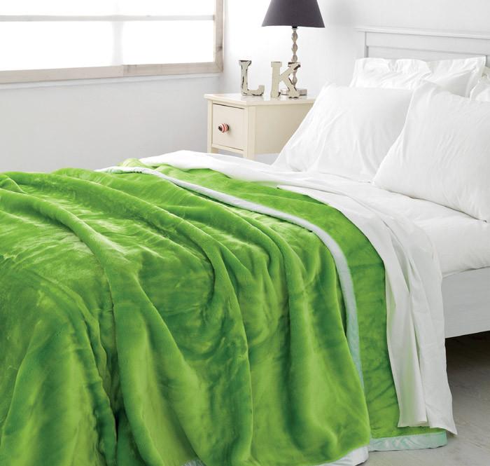 Κουβέρτα Βελουτέ Υπέρδιπλη Palamaiki La Spagnola Jasmine Green