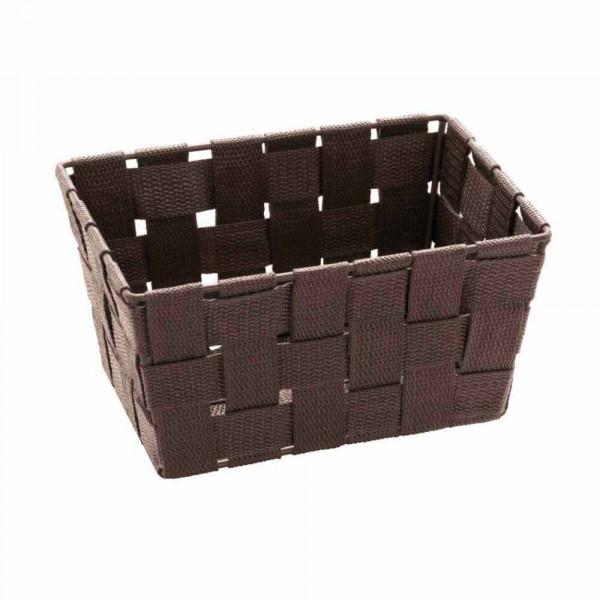 Καλάθι Αποθήκευσης (19x14x9) Wenko Adria Brown 20686100